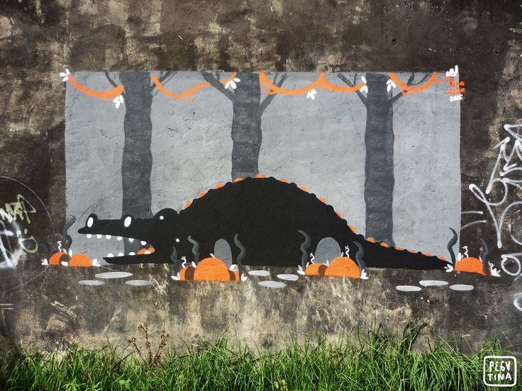 """""""Detrás de cada muro pintado hay una historia por contar y dos personas que debo agradecer."""""""