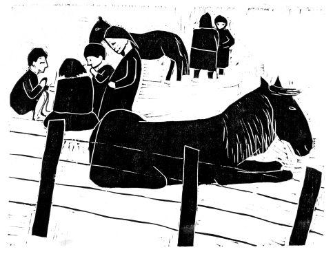 Werner Berg, Zigeunerpferd, 1933