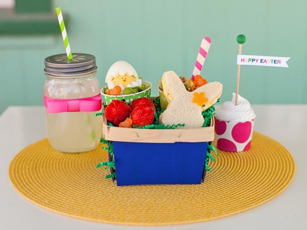 Easter Egg Hunt Lunch for Kids! So cute (and healthy)!
