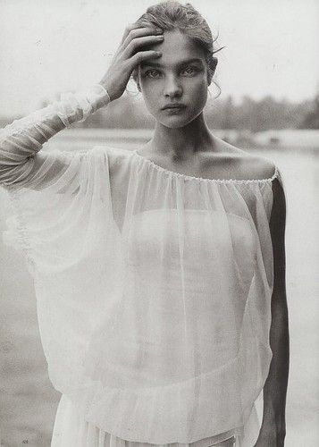 Natalia by Peter Lindbergh - both model and artist are incredible inspirations to me.