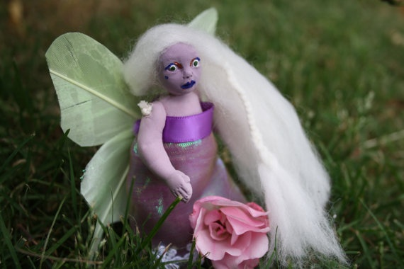 Beautiful Handmade Fairy doll by ToffieDolls on Etsy, $20.00