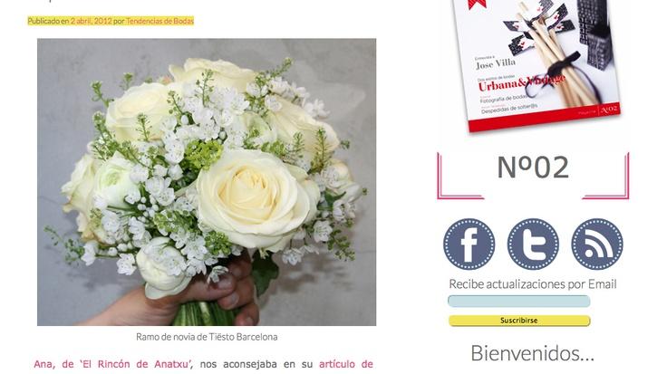 TIËSTO BCN, Revista Tendencias de Boda.