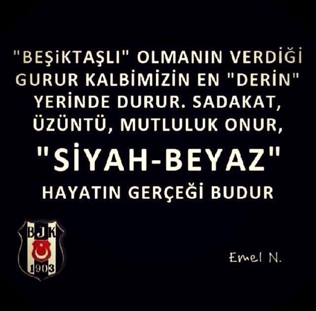 Niyeyse Beşiktaşa karşı içimde bi taraftar ruhu büyüdü çıktı :))