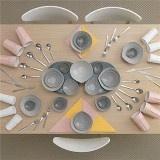 吃飯也要搞藝術!清爽風格的IKEA餐具藝術