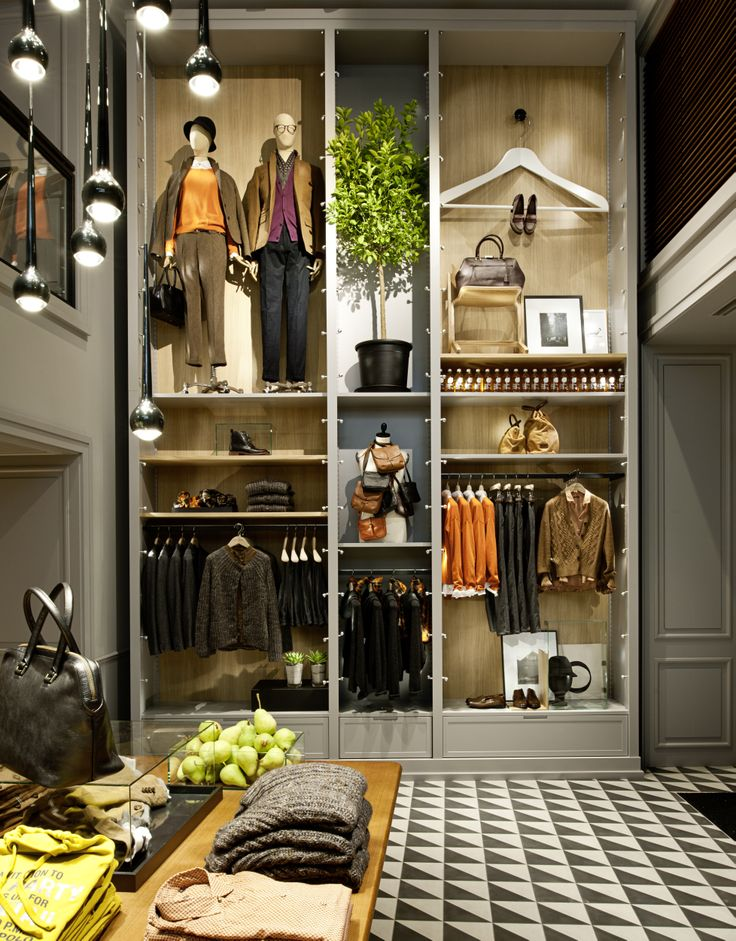 """Marc O'Polo, """"Impressions from our flagship store in Munich, Germany"""",pinned by Ton van der Veer"""