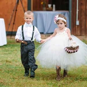 Flower Girl and Ring Bearer Look
