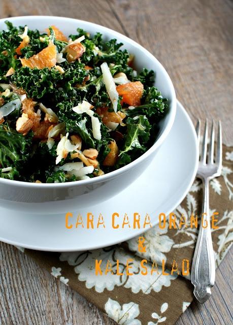 kaleSuburban Gourmet, Cara Kale, Cara Orange, Kale Salads, Orange Kale, Cleaning Eating, Authentic Suburban, Cara Cara, Manchego Chees