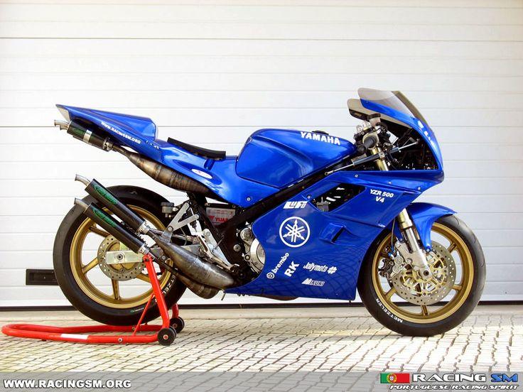 Yamaha RD500 modernized styling