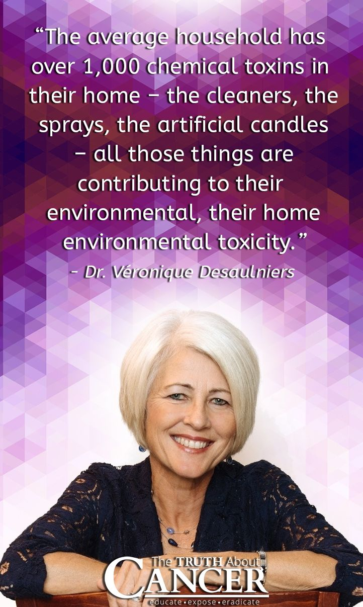 Click on the image to watch how Dr. Veronique Desaulniers reveals that the average household has over 1,000 chemical toxins JUST in their home. Add to that the countless other toxins we are exposed to each day, our bodies need to be detoxed. Watch as she shares more information that we all need to know.