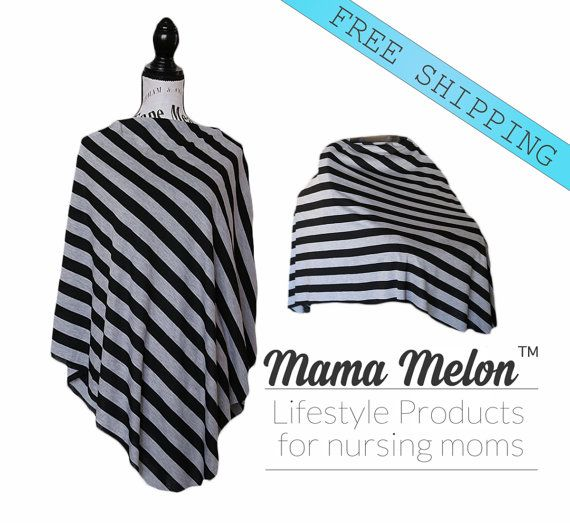 Maternity Top Car Seat Poncho Nursing Cover by MamaMelonCA on Etsy