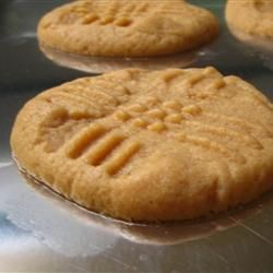 Peanut Butter Cookies - just made these . followed the recipe exactly - neal said they were really good and melt in your mouth. it's a keeper!