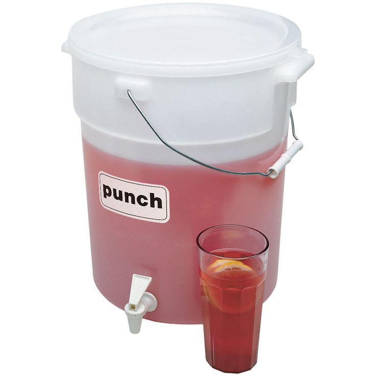 $23.49 Cambro DSPR6 6 Gallon Beverage / Juice Dispenser