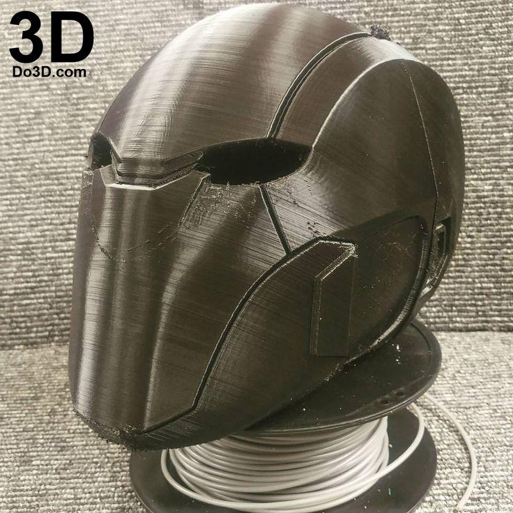3D Printable Model: Red Hood Injustice 2 Helmet Cowl | Print File Formats: STL – Do3D.com
