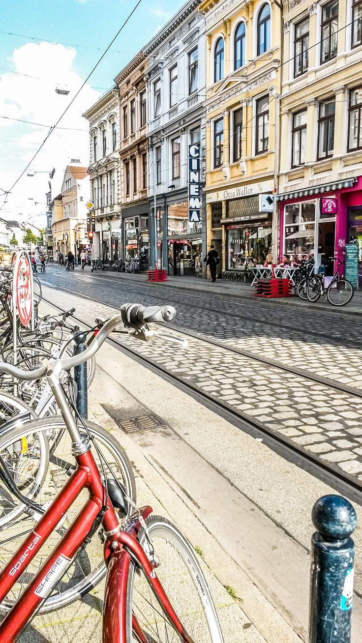 Mit dem #Fahrrad durch #Bremen