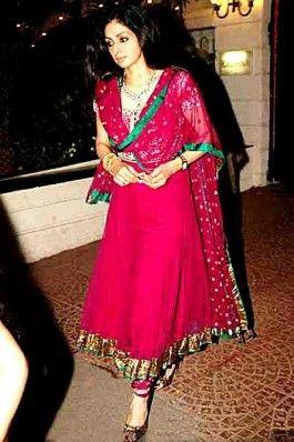 Shridevi Style Anarkali