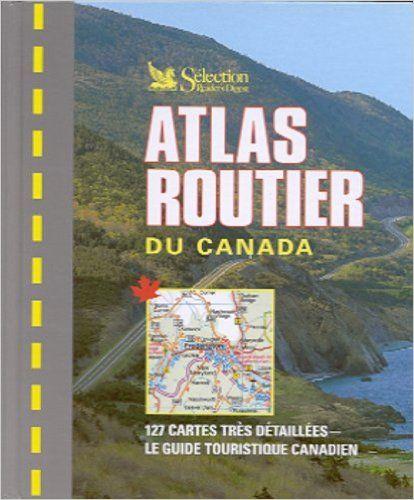 Atlas routier du canada: Amazon.ca: Collectif: Books