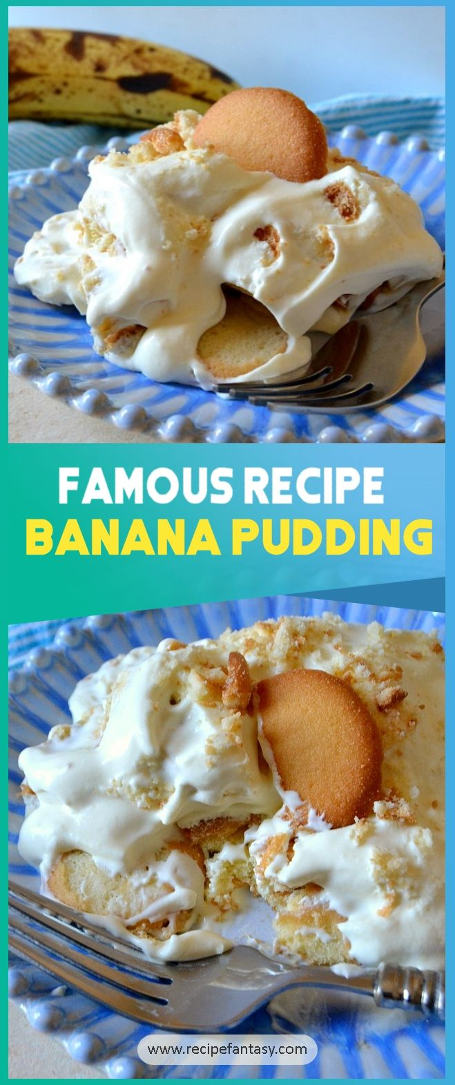 Ingredients And Instruction For Make Famous Banana Pudding Famous Banana Pudding Dessert Recipes Dess Banana Pudding Dessert Recipes Easy Dessert Recipes