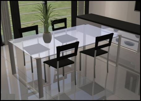 Simbella Moroso Dinning Set Sims 2 Dinning Rooms