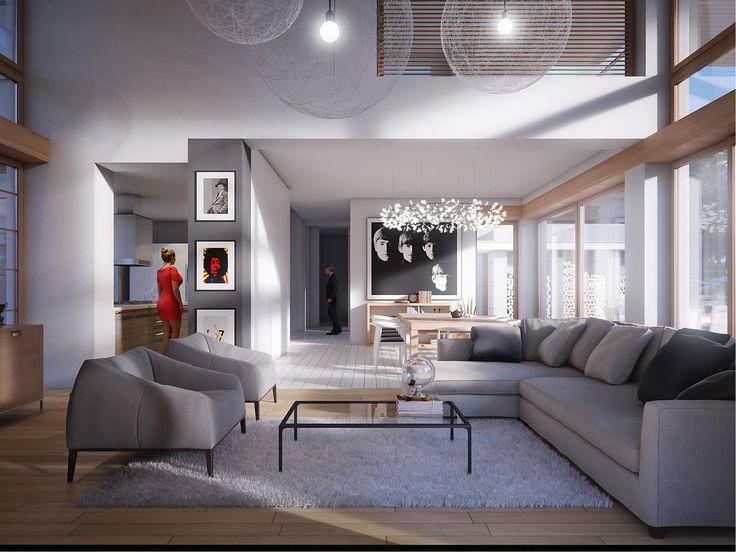 LK&1253 #salon #wnętrza #architektura #design #LKProjekt