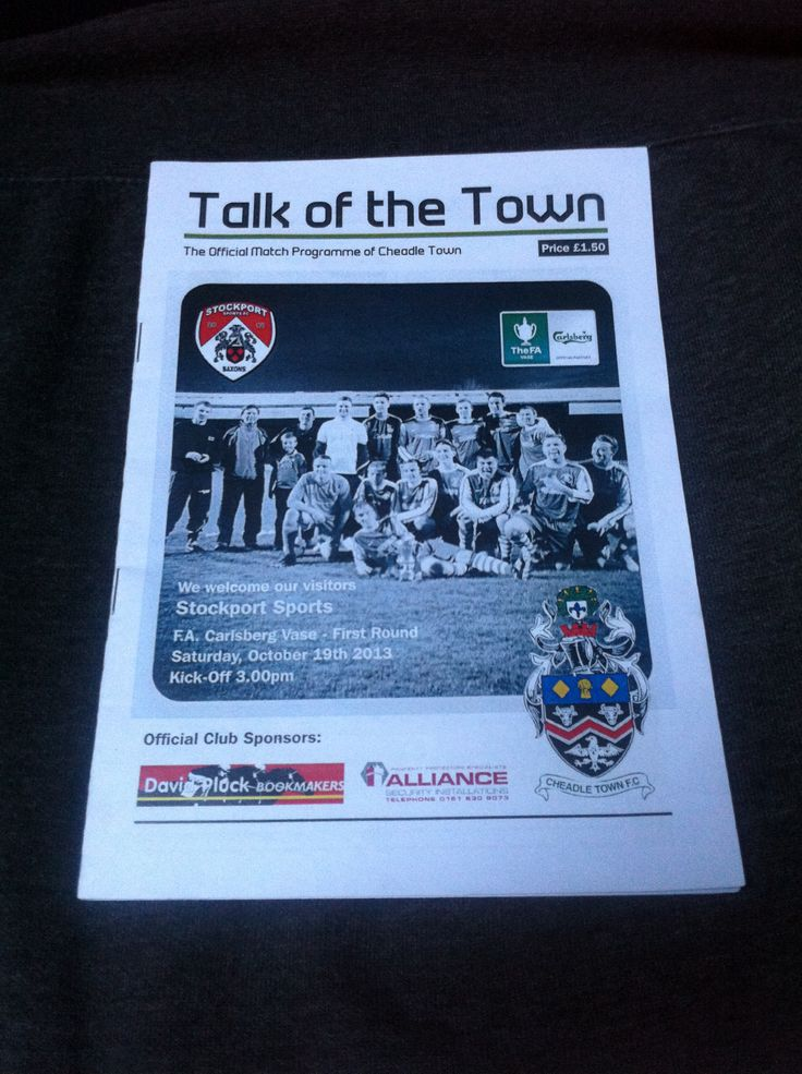 Cheadle Town v Stockport Sports