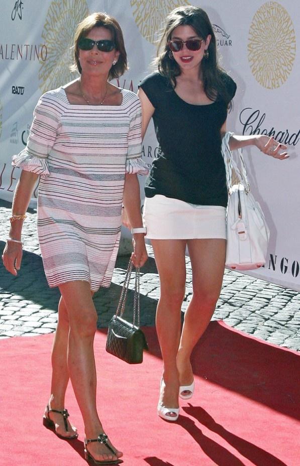 Carolina, gran premio de Mónaco.