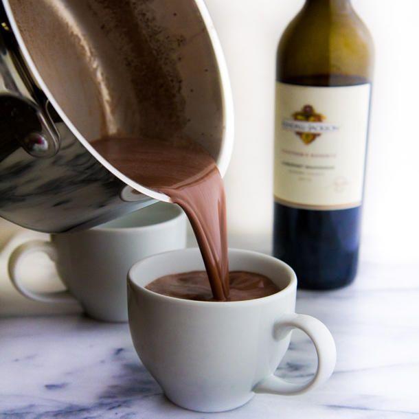 Heiße Schokolade und Rotwein: Die perfekte Kombi!