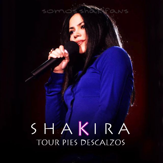 Shakira unreleased tour pies descalzos