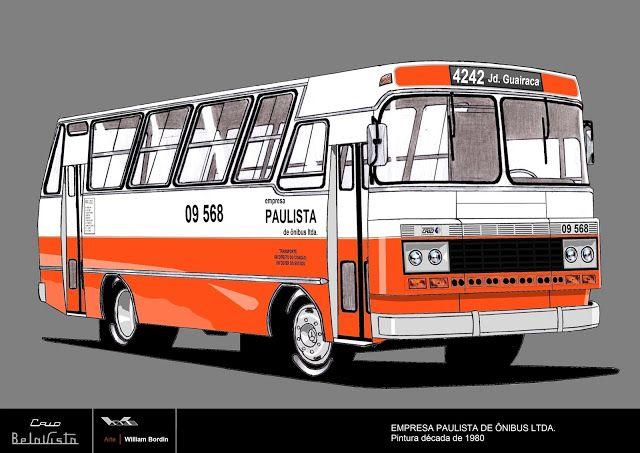 Will.Bus: Caio Bela Vista II / Mercedes-Benz LPO 1113 (Modif...
