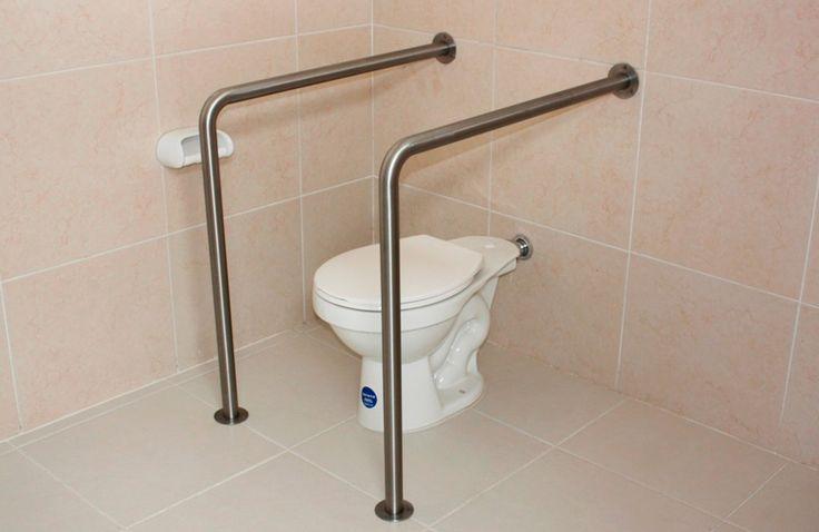 13 best baños images on Pinterest Bathrooms, Bathroom and Grab bars