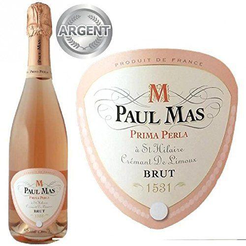 Paul Mas Prima Perla AOP Crémant de Limoux – Vi…: Paul Mas – Prima Perla – AOP Crémant de Limoux – Vin rosé