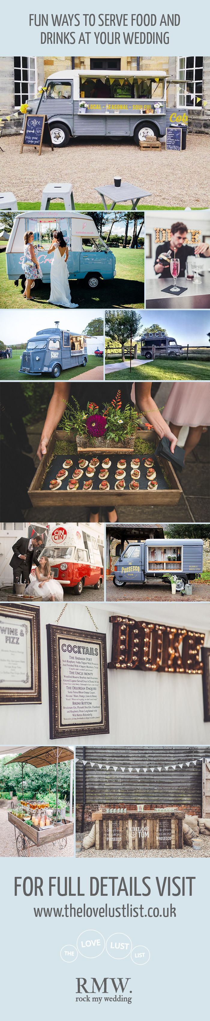 Street Food & Drink Trucks For Wedding And Event Hire From The Love Lust List…