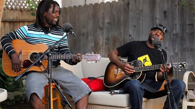 "Mellow Mood | Playing For Change by Playing For Change. This video features Mermans Mosengo and Jason Tamba performing Bob Marley's ""Mellow Mood."" It was filmed live outside while taking a break from recording their new Afro Fiesta Studio Album (Coming Soon!!). Enjoy the music and like Bob Marley says, ""Open your heart and let love come running in..."""
