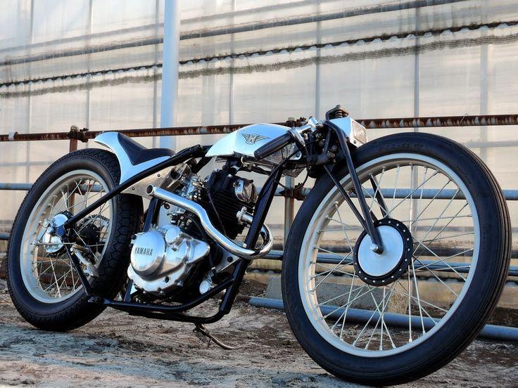 — Yamaha SR125 Material Woman: ...