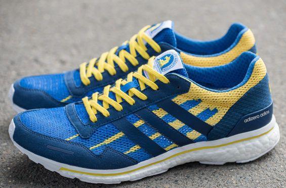 http://SneakersCartel.com This adidas adiZero Adios Boost Pays Tribute To The Boston Marathon #sneakers #shoes #kicks #jordan #lebron #nba #nike #adidas #reebok #airjordan #sneakerhead #fashion #sneakerscartel