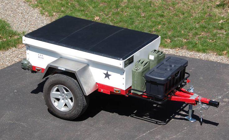Fiberglass M416 M100 Military Style Trailer Tub Kit Page