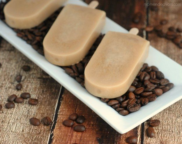 Coffee Popsicles | 26 Delicious Desserts That Will Satisfy Your Coffee Addiction