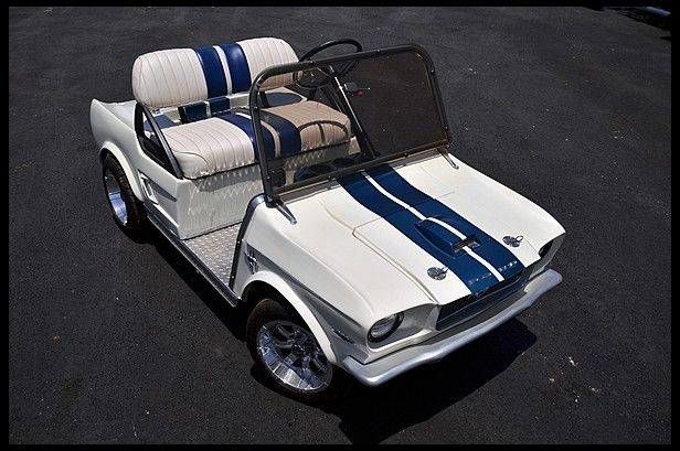 2010 Mustang Golf Cart for sale by Mecum Auction