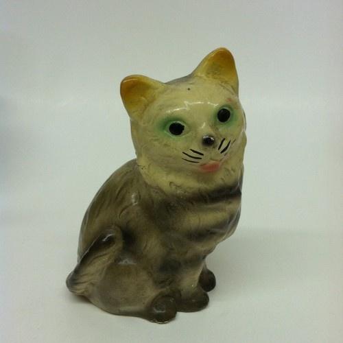 Vintage Chalkware Cat