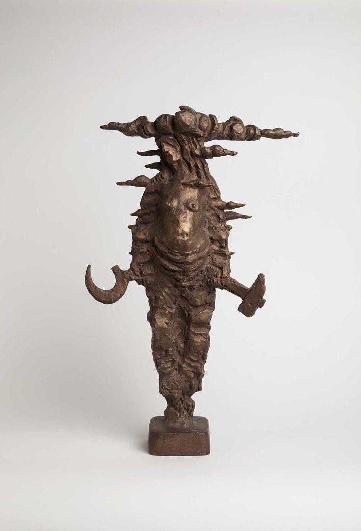 Idealist, 1991, bronze By Anja Juurikkala (1923-2015). Heinola Art Museum collection. Foto: Niclas Warius