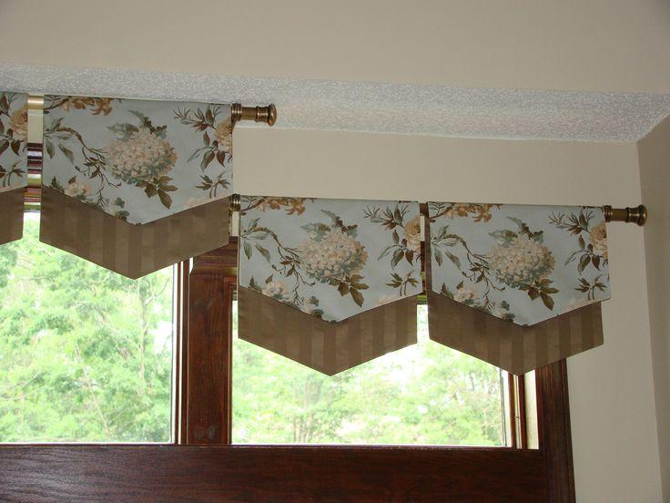 kitchen window valance idea for challenging window u0026 measuring tips u0026 etc - Kitchen Window Valances