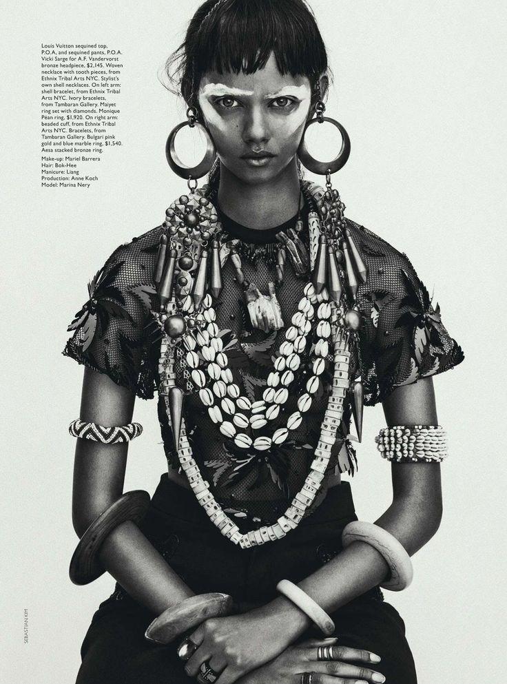 vogue australia 2014 04 apr 189 Vogue Austrália Abril 2014 | Marina Nery por Sebastian Kim  [Editorial]