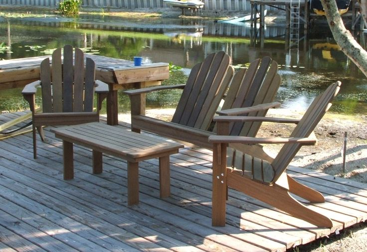 Ipe patio set - Figueroa's Fine Custom Furniture