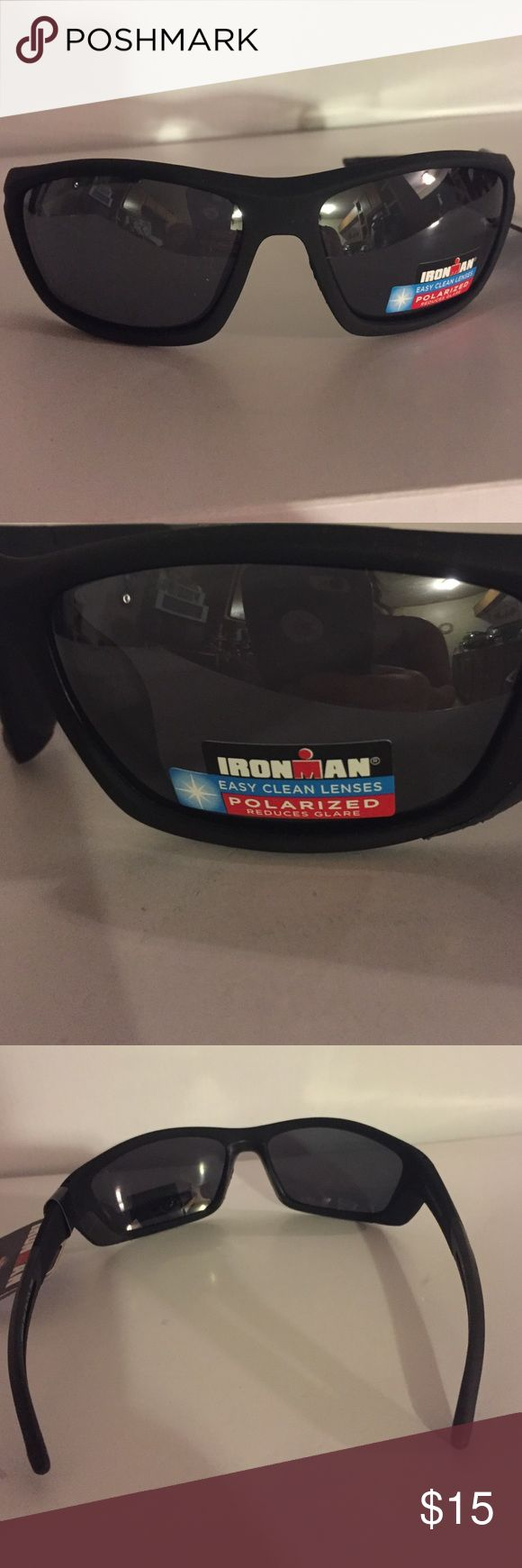 Foster Grant Ironman Sunglasses Ready for summer? You can be with these stylish yet functional sunglasses. MaxBlocks means you get 100% UVA/UVB protection from the sun. Polarized glare free vision. MSRP $25 Foster Grant Accessories Sunglasses