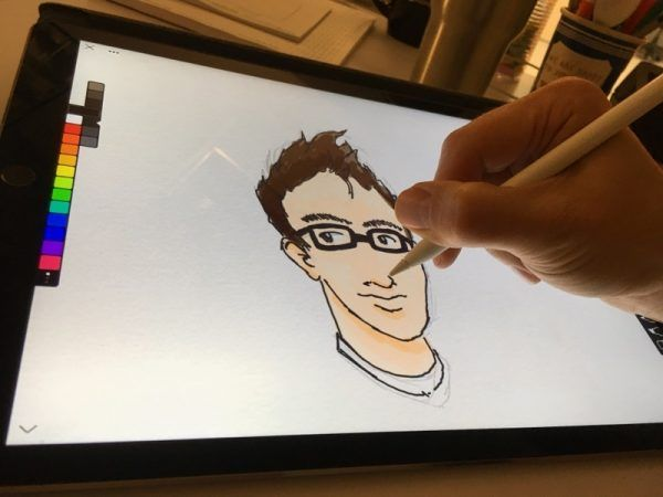 The IconFactory Linea iPad Pro sketchbook app review