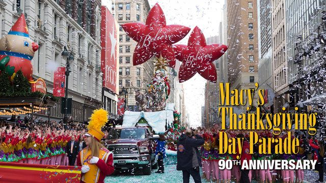 Thanksgiving Day 9 am all time zones. Ring in your holiday with the 90th Annual Macy's Thanksgiving Day Parade, broadcast on NBC since 1948!