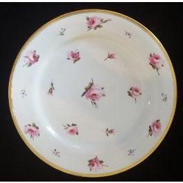 Plate: Billingsley Pink Roses C1820