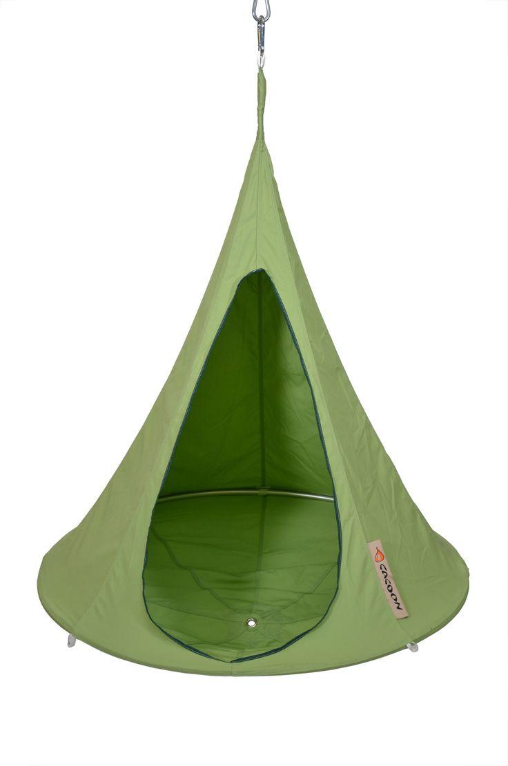 Superb Cacoon Bonsai Hammock   Leaf Green