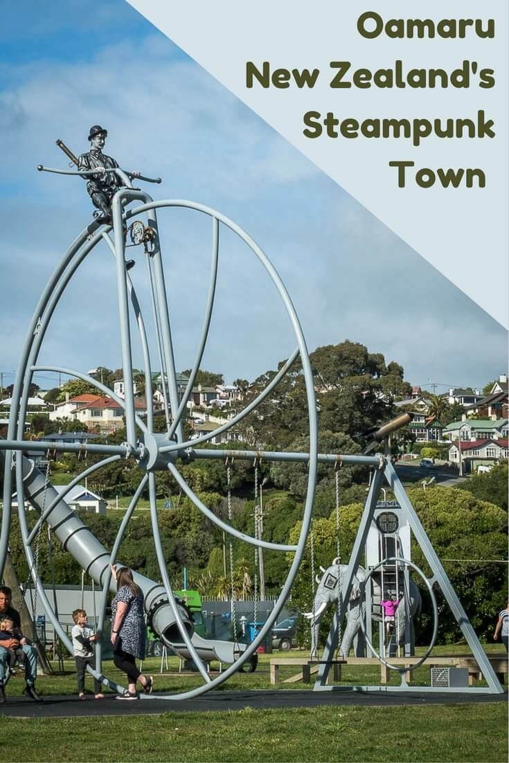 Oamaru is New Zealand's Steampunk capital. Read the article to see images of the Whitestone Victorian architecture, the Steampunk museum and more.  via @Rhondaalbom
