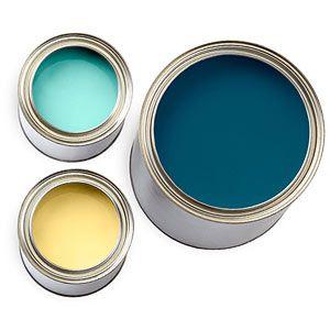 Aqua + Cobalt + Yellow