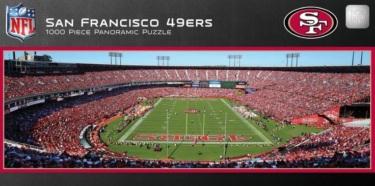 NFL San Francisco 49ers - 1000 Piece Jigsaw Puzzle